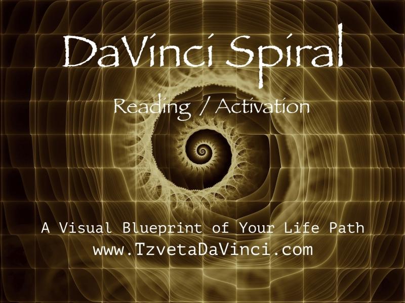 DaVinci Spiral Reading Activation