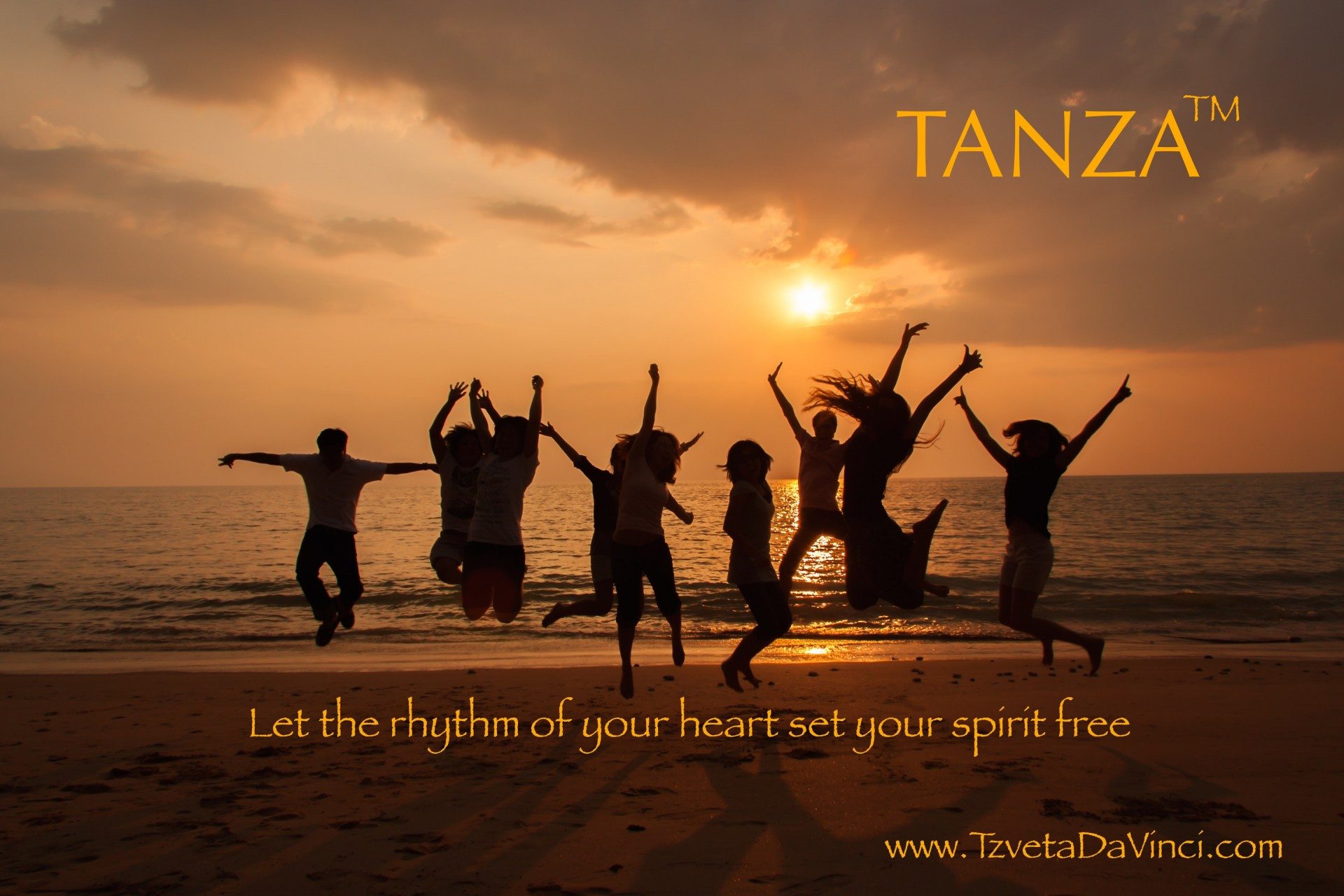 Transform with Joy - TANZA Dance Meditation - Tzveta Davinci - Transformational Coaching