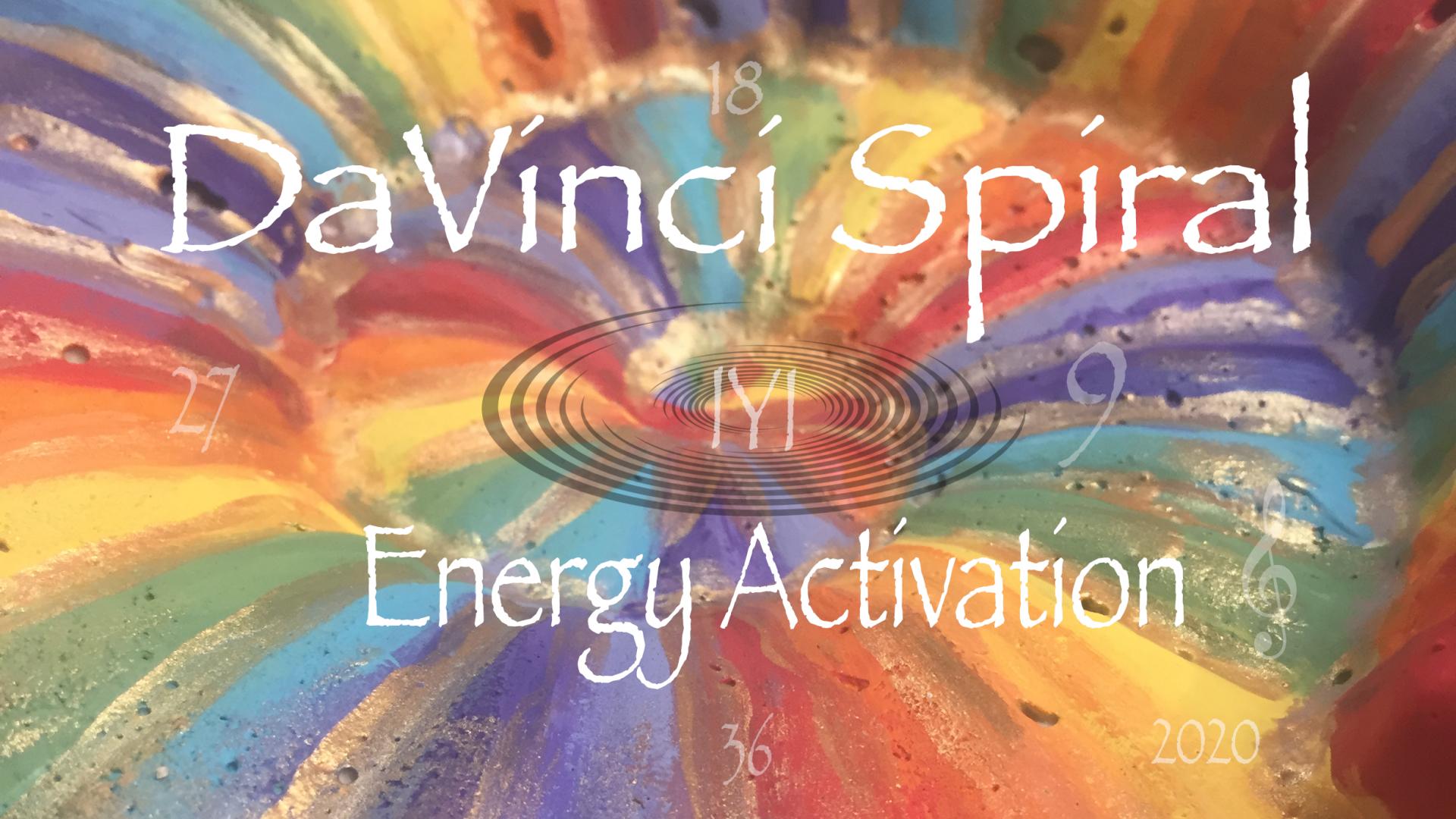 DaVinci Spiral Activation - Tzveta Davinci - Transformational Coaching